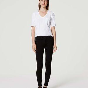 NWT LOFT Black Marisa Knit Legging Size 4
